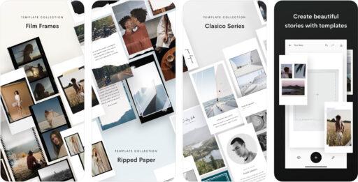 Unfold — Editor de Historias