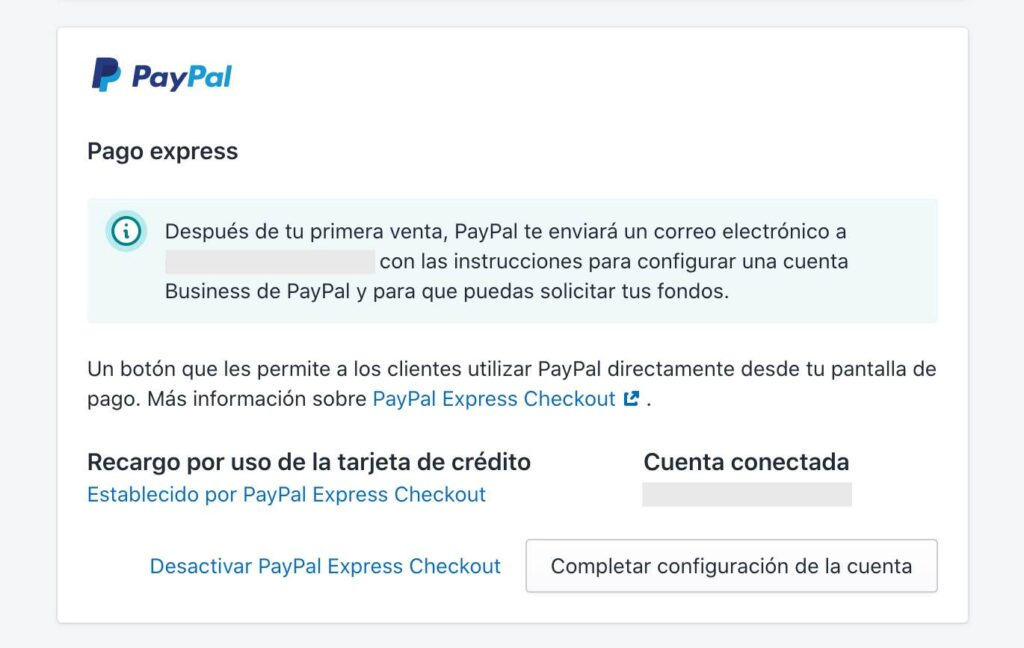 Configurar pagos por PayPal en Shopify