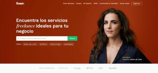 Ganar dinero ofreciendo servicios en Fiverr