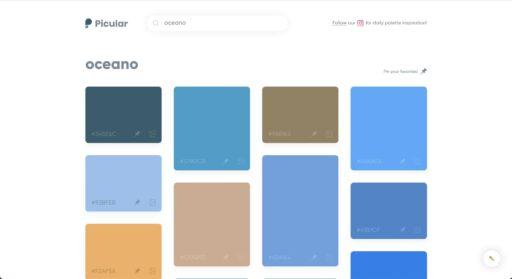 Crear paleta de colores con Picular
