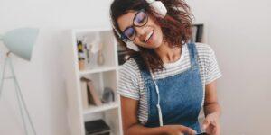 Escuchar audiolibros en Audible