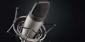 Microfono para grabar podcast