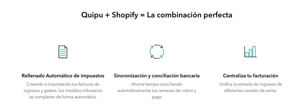 Integración de Quipu con Shopify